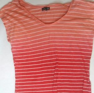 Flowy Salmon Colored Shirt from Express
